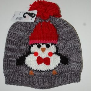NWT Christmas Penguin Stocking Cap